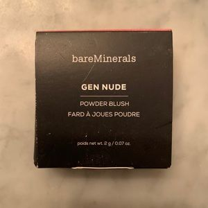 NIB NEW IN BOX BARE MINERALS GEN NUDE CALL BLUSH
